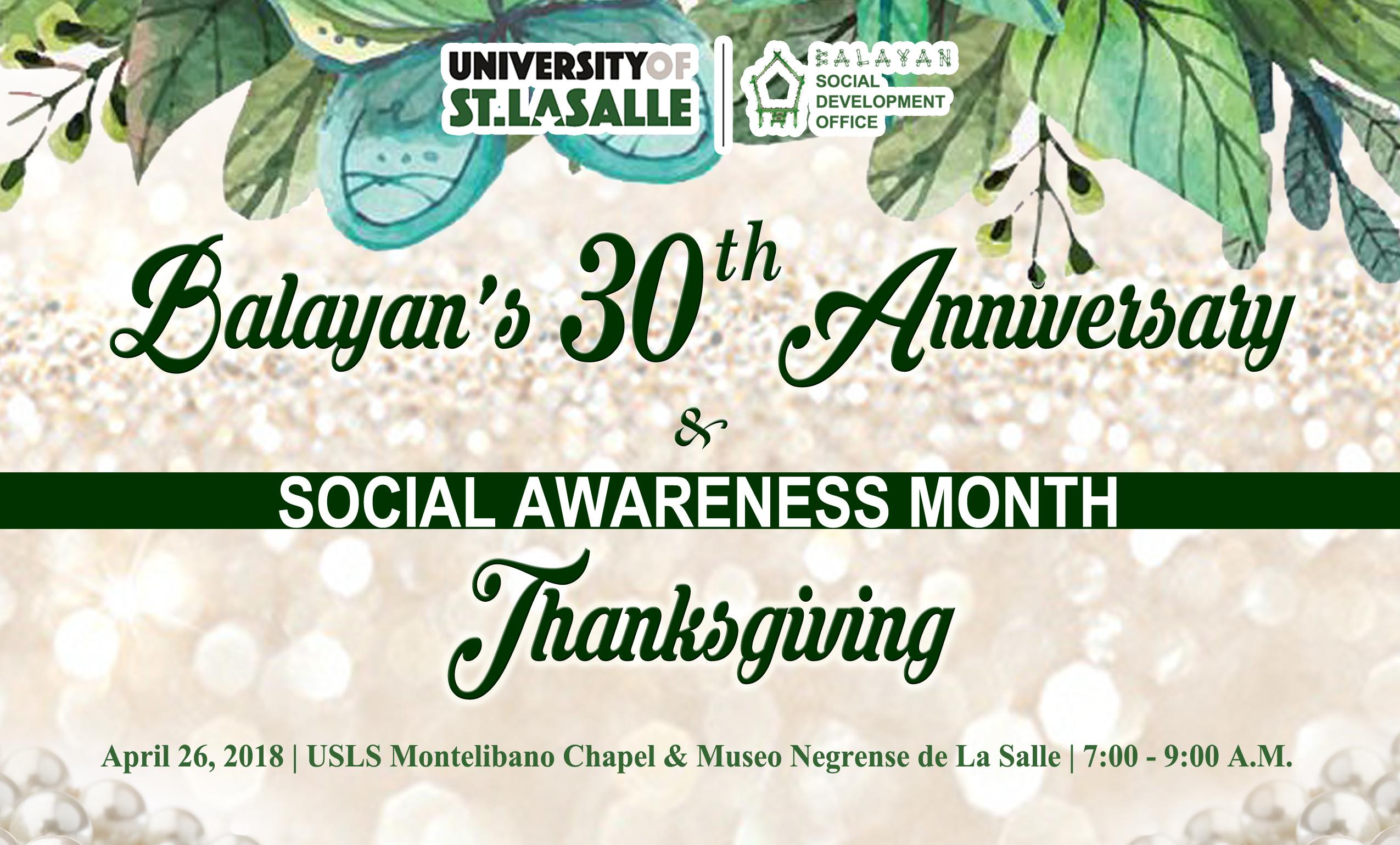 Balayans-30th-Anniversary-Social-Awareness-Month-Thanksgiving.jpg